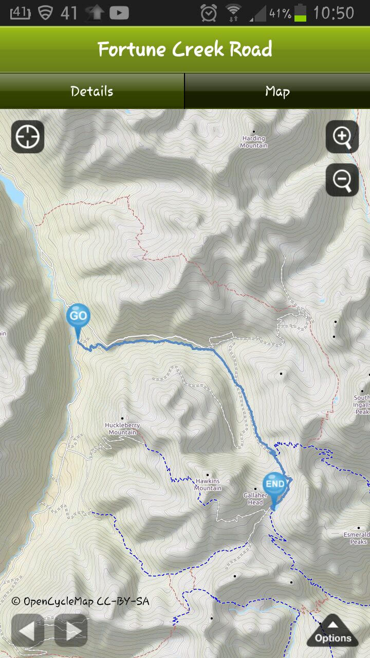 Gallagher Head Lake GPS