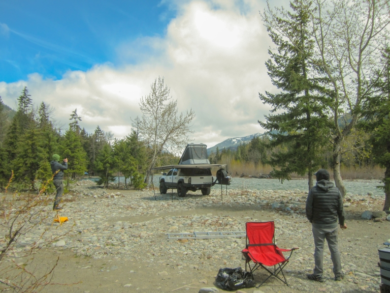 Cle Elum River Camping April 2018-10