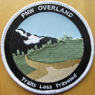 PNW Oveland 4 INCH PATCH
