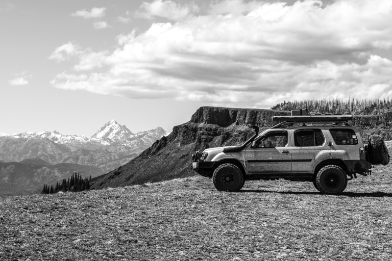 PNW Overland Table Mtn and Lion Rock July 2018 BW2